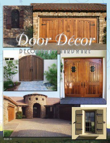 Latest Product Brochure - PH Door Decor