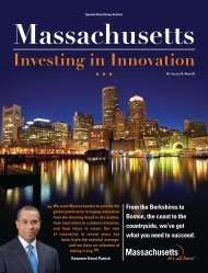 Massachusetts: Investing in Innovation - Forbes Special Sections