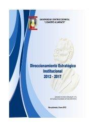 Direccionamiento Estratégico - Universidad Centroccidental ...