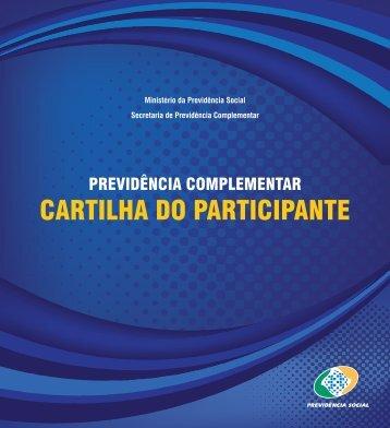 Previdência complementar: cartilha do participante