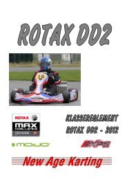 Page 1 Page 2 ROTAX ROTAX REGLEMENT 2012 ...