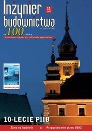 Listopad 2012 (plik pdf 8.84MB) - Polska Izba Inżynierów ...