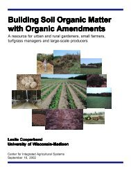 Building Soil Organic Matter with Organic Amendments - Center for ...