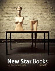Spring 2011 catalogue - New Star Books