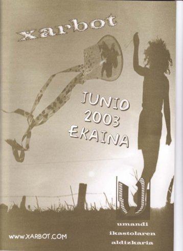 Junio 2003 - Umandi