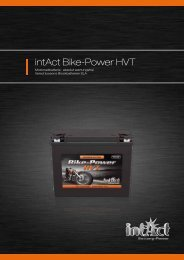 intAct Bike-Power HVT - Accu-Profi