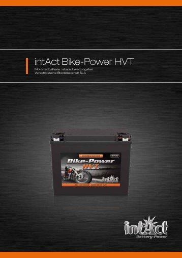 intAct Bike-Power HVT - Accu-Profi