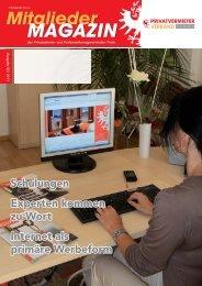 Mitglieder Magazins - Privatvermieter Verband Tirol