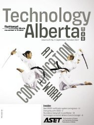 Technology Alberta sept/oct.07 - ASET
