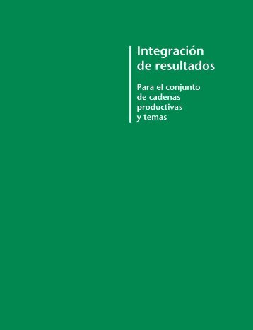 Integración de resultados - Fia