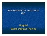 Waste Disposal - CSHE