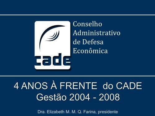 Elizabeth Farina - Conselho Administrativo de Defesa Econômica