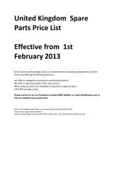 United Kingdom Spare Parts Price List Effective from 1st ... - Leckey