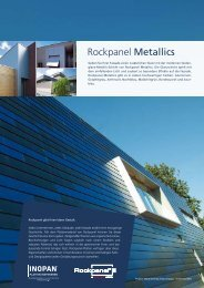 Rockpanel Metallics - Inopan