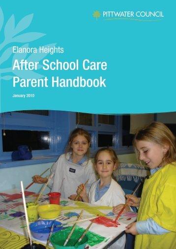 After School Care Parent Handbook - Pittwater Council