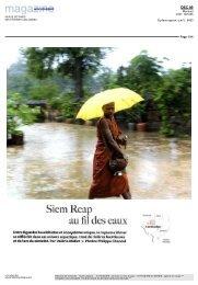 Siem Reap au fil des eaux - Voyageurs du Monde