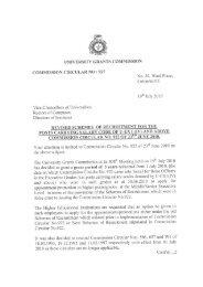 Commission Circular No 927 - University Grants Commission - Sri ...