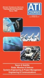 Space & Satellite Radar, Missiles & Defense Systems Engineering ...