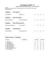 Kreisliga LG 2010 / 11