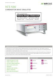 VCS 500 - Helmut Singer Elektronik