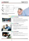 Digital To TV for IPTV - Promax - Page 2