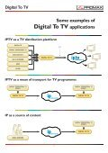 Digital To TV for IPTV - Promax - Page 7