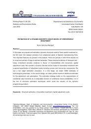 Estimation of a Dynamic Discrete Choice Model - ResearchGate