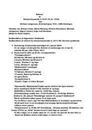 Referat til Bestyrelsesmøde d 12-01-10, kl. 14.00, hos Michael ...