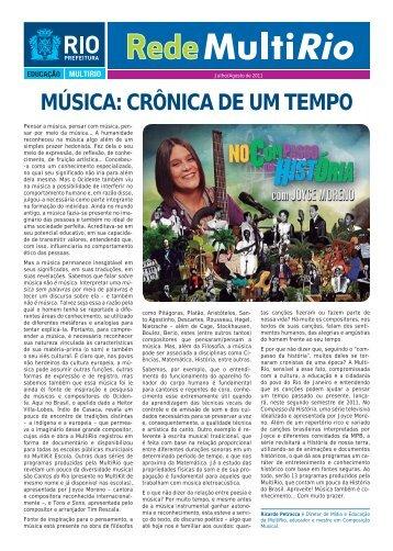 MÚSICA: CRÔNICA DE UM TEMPO - MultiRio
