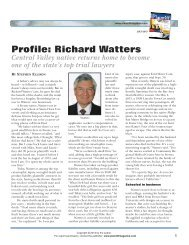 Profile: Richard Watters - Plaintiff