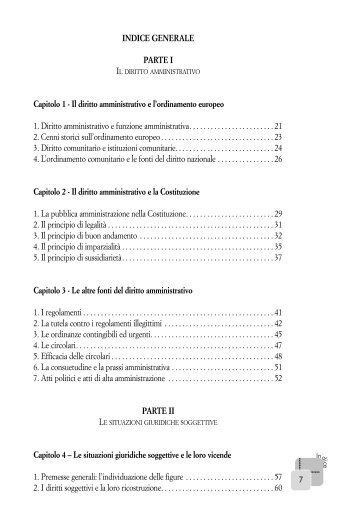 INDICE GENERALE PARTE I Capitolo 1 - Il diritto ... - La Tribuna