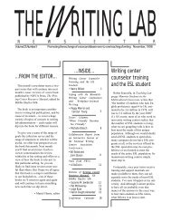 23.3 - The Writing Lab Newsletter