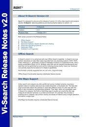 Vi-Search Release Notes v2 - Agent Vi