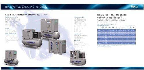 HGS 2-15 Product brochure - Hertz-Kompressoren