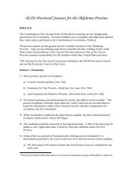 OCDS Provincial Statutes for Central Province - Secular Carmelites ...