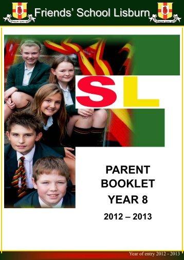 Copy of Year 8 Parents book final copy - Friends' School Lisburn