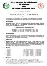 Turnierbestimmungen (PDF)