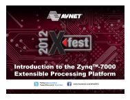 Introduction to the Zynq™-7000 Extensible Processing Platform