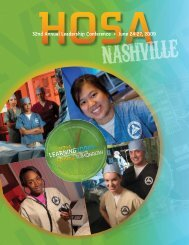 2009 NLC Educational Symposium - HOSA