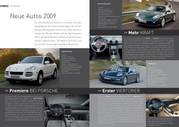 Neue Autos 2009