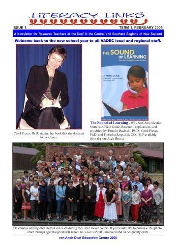 Literacy Links - Van Asch Deaf Education Centre