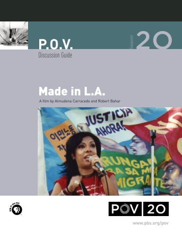 Made in L.A.: Discussion Guide - PBS