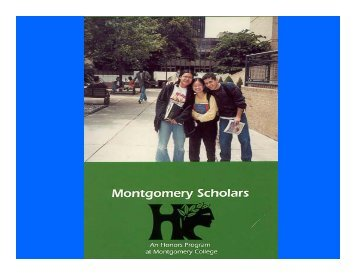 World History II - Montgomery College