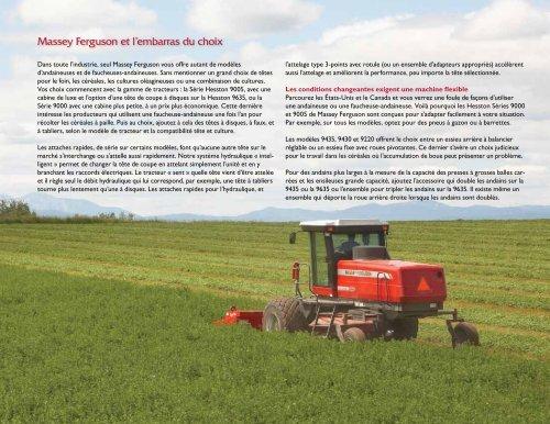 Pour une récolte en grande vitesse - Agco Direct