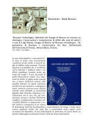 Recensioni - Book Reviews - web journal