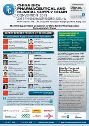day 1 cold chain china - Industry Event Calendar - World ...