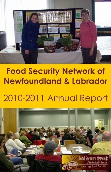 FSN 2010 – 2011 Annual Report - The Food Security Network of ...