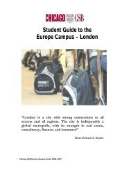 Student Guide to the Europe Campus – London - Portal