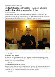 Artikel Tagesanzeiger online vom 16. März 2011 (PDF)