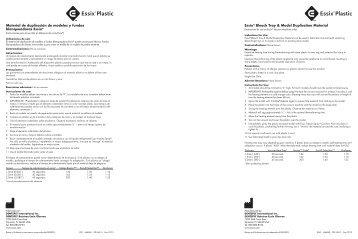 Essix® Bleach Tray & Model Duplication Material ... - Raintree Essix